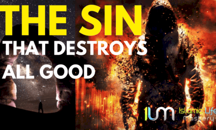 The Sin that will destroy You