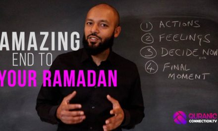 Make Ramadan benefits last for 12 months